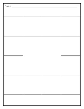 Choice Board Template