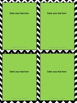Choice Board Template FREE PRODUCT