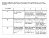 Choice Board for ANY Text!