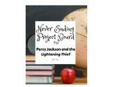 Choice Board for Percy Jackson and The Lightening Thief