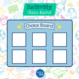 Choice Board for Students With Autism