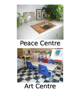 Choice Board/Center Signs