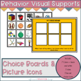 Choice Boards | Behavior & Communication Skills