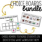 Choice Boards Bundle