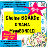 Choice Boards O'Rama! 13 ChoicesBOARDs and Growing++
