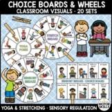 Choice Boards and Circles • Classroom Visuals • Sensory, S