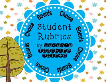 Choice Boards and Rubrics: the next level -- plus bonus rainforest unit