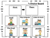 Choice Boards for Boys and Girls
