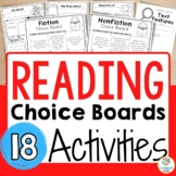Choice Boards for Fiction and Nonfiction Reading