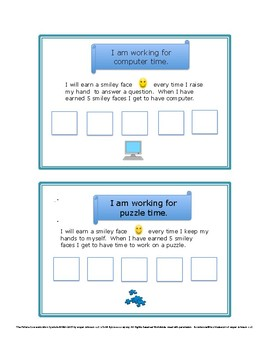 Choice Boards for the Special Education Classroom