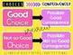 Choices > Consequences Classroom Poster