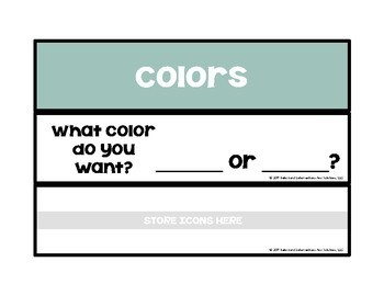 Choice Making Strips