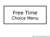 Choice Menu