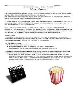 Choice Novel Project: Movie Madness