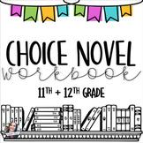 Choice Novel Workbook -- 11th and 12th Grade