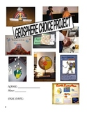 Choice Project (41 mini projects included) GEOSPHERE ~ Differentiated!