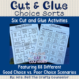 Choice Sort Cut & Glue Activities (Two Sorts and Four Puzzles)
