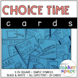 Choice Time Cards