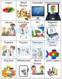 Choice Time Center Cards- EDITABLE