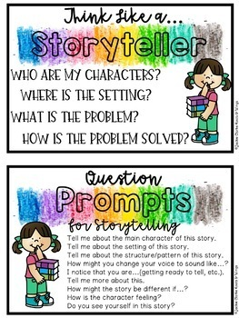 Choice Time Discovery Centers: Storytelling (Reading) Center