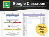 Choice Tracker - Character Development Graphic Organizer For Google Classroom