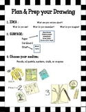 Choice based art - drawing center posters