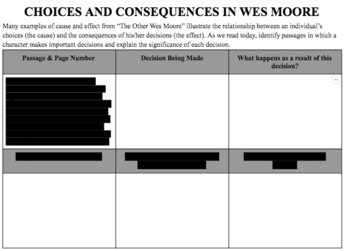 """Choices & Consequences in """"The Other Wes Moore"""""""