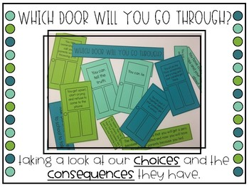 Choices and Consequence - Which Door Will You Go Through?