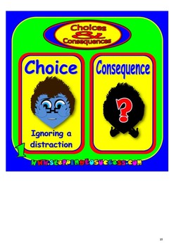 Choices and Consequences Activity Pack