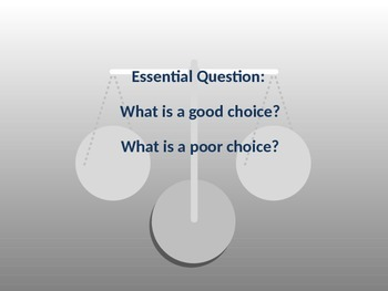 Choices and Decision making unit