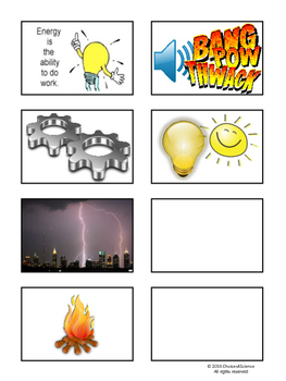 Choices4Science - Forms of Energy (TEKS 4.6A)