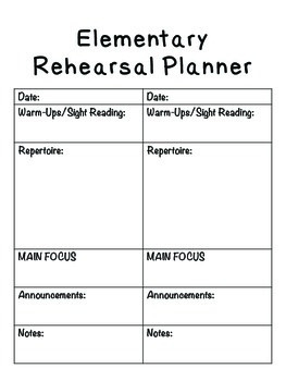 Choir Concert Planner