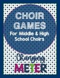 Choir Games: a Growing Bundle