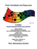 Choir Handbook and Resource Kit