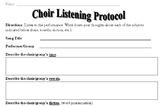 Choir Listening Protocol