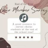 Choir Member Survey