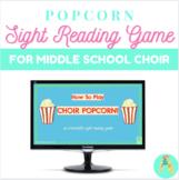 Middle School Choir Popcorn Sight Reading Game
