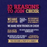 Choir Recruiting Poster