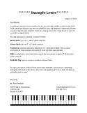Choir Recruitment and Retention Letters
