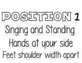 Choir Singing Positions