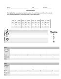 Choir Skills Assessment