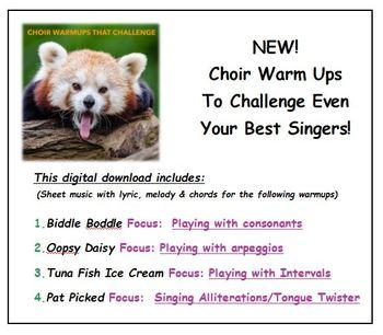 Choir WarmUps That Challenge!