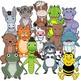Choir of Animals Craft Activity | Paper Bag Puppet Animal