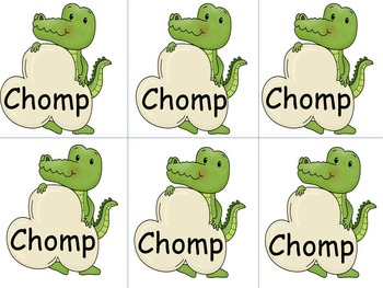 Chomp Fry First 100 Word Games