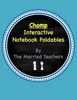 Chomp Interactive Literature and Grammar Notebook Foldables
