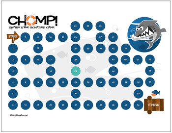 Chomp! Music Theory Game for Kids - Rhythm & Time Signatures