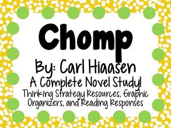 Chomp by Carl Hiaasen - A Complete Novel Study!