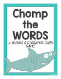 Chomp the Words (A Blends & Digraphs Game)