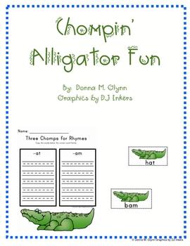Chompin' Alligator Fun with Chunks