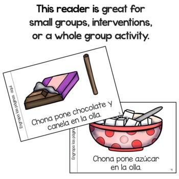 Chona hace chocolate Spanish Emergent Reader